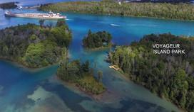 Voyageur Island Aerial