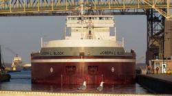 Soo Locks Freighter Joesph Block