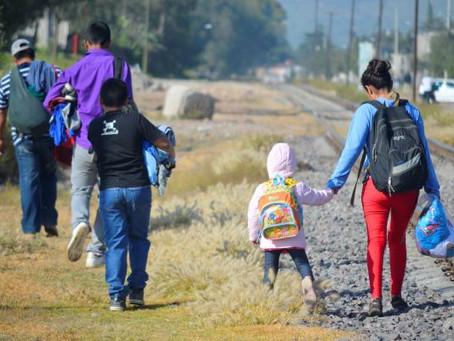 Niños migrantes en su paso por Sonora durante el Gobierno de Trump