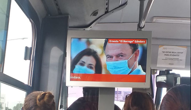 Empieza propaganda política en unidades del transporte público de Hermosillo