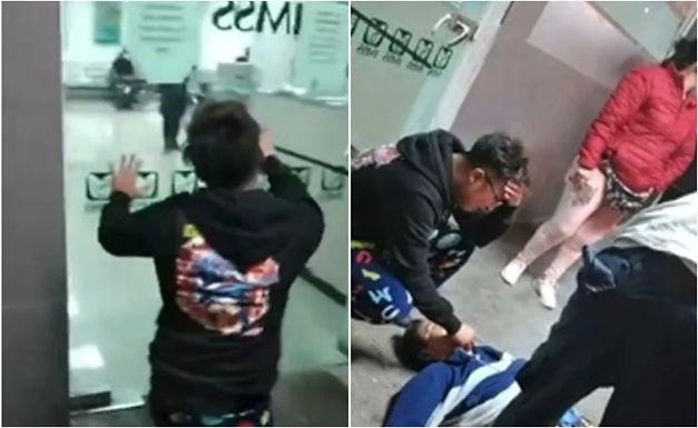 Hombre muere en puertas del IMSS en CDMX