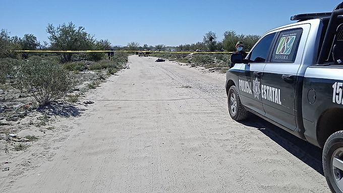 Encuentran encobijado al norte de Hermosillo