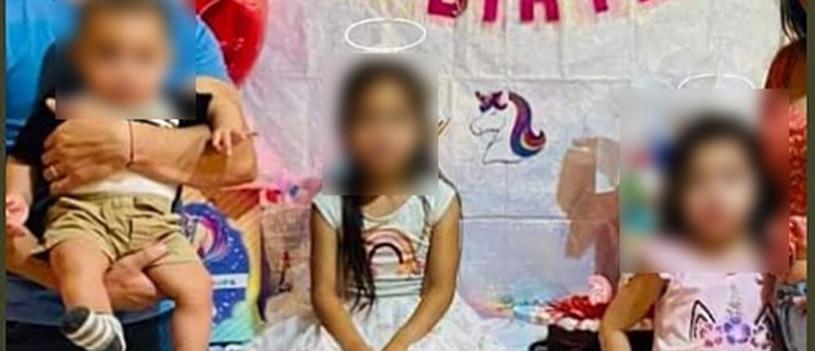Tragedia en Agua Prieta, un bebé de 6 meses y sus hermanitas de 4 y 6 años murieron ahogadas
