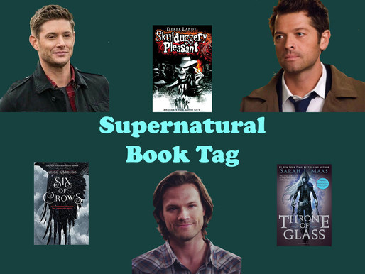 Supernatural Book Tag