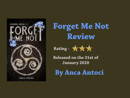 Forget Me Not by Anca Antoci || Review