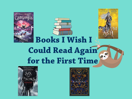Books I Wish I Could Read Again For The First Time