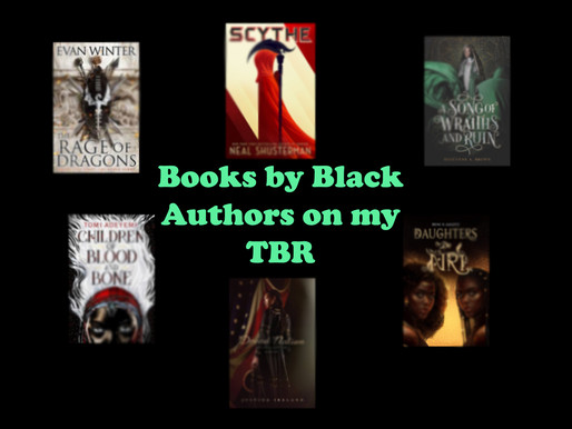 Books by Black Authors on my TBR