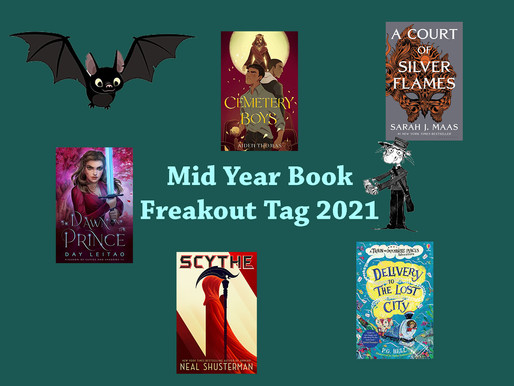 Mid Year Book Freakout Tag | 2021