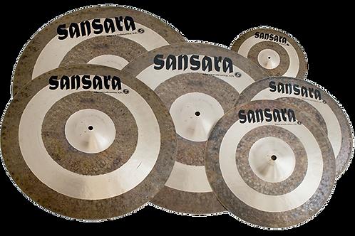 Sansara Contrast Cymbal Set (5-teilig)