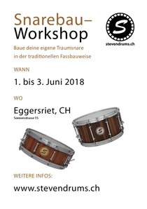 Snarebau-Workshop 01. bis 03. Juni 2018