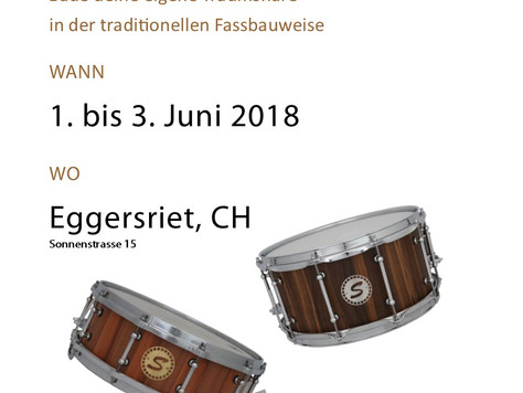 Snarebau-Workshop 01. bis 03. Juni 2018
