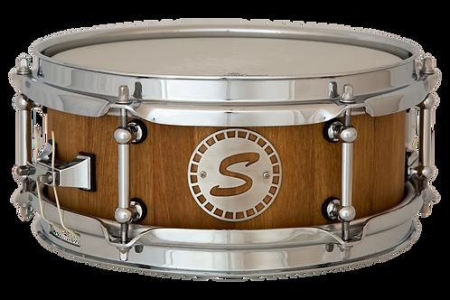 """10""""x5"""" Nussbaum Stave Shell Snare"""