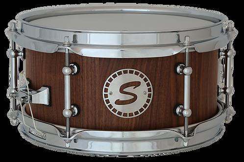 """10""""x5.25"""" Nussbaum Stave Shell Snare"""