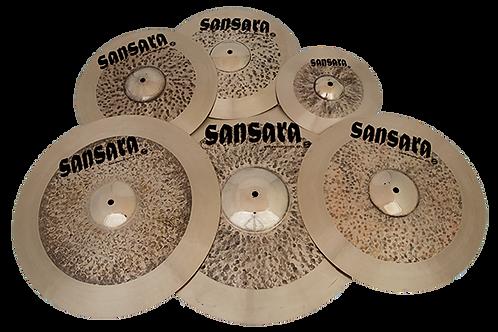Sansara Battle Cymbal Set (5-teilig)