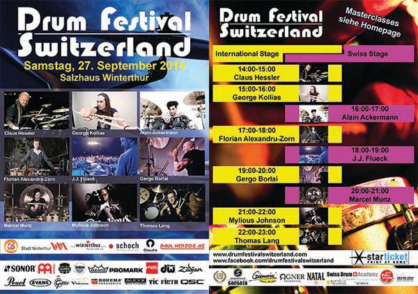 Am Samstag, 27. September findet das Drum Festival in Winterthur statt. Besuchen Sie meine Partnerschule (Benjamin Wehinger) und mich  an unserem Stand. Es würde uns freuen. Weitere Infos findest du auf der Website des Festivals: http://www.drumfestivalswitzerland.com/Home/