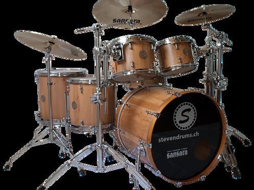 Drum Set Birnbaumholz
