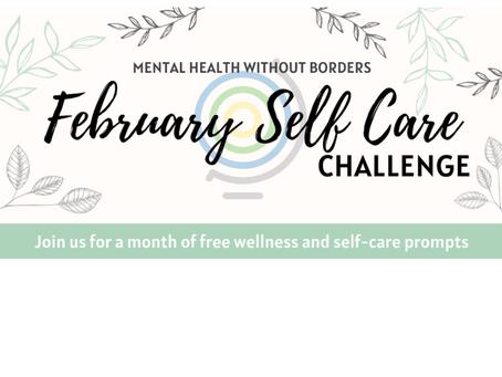 MHWB February Self Care Challenge