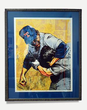 Nolan Ryan - Baseball Art Framed