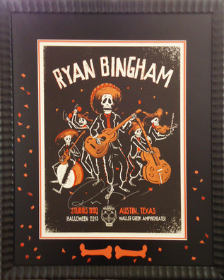 Ryan Bingham - Framed Band Poster