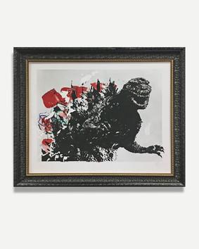 Godzilla - Framed Artwork