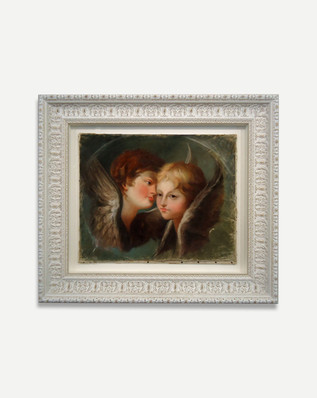 Pastel on Sheepskin - Framed Art