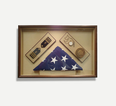 Flags and Medals - Framed Memories