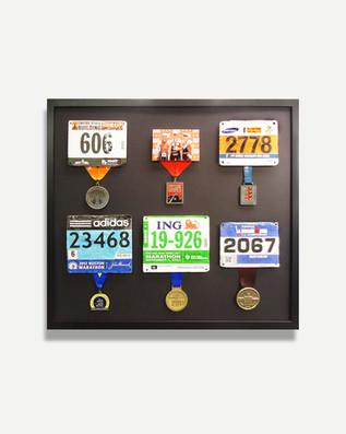 Running Medals- Framed Memories