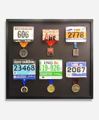 Iron Man Medals - Framed Medals