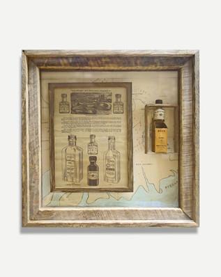 Whale Oil - Framed Historical Items