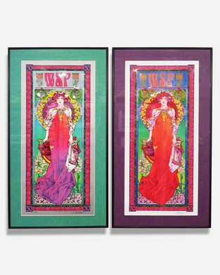 Widespread Panic - Framed Band Poster