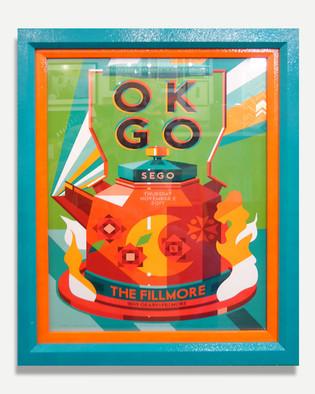 OK go - Framed Poster