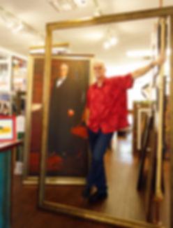 Steve Porter, Custom Framing in Austin