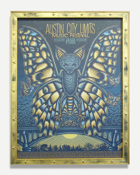 Austin City Limits B - Framed Poster