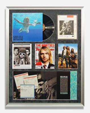 Nirvana- Framed Vinyl