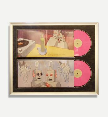 Get Up Kids - Framed Band Vinyl Albums