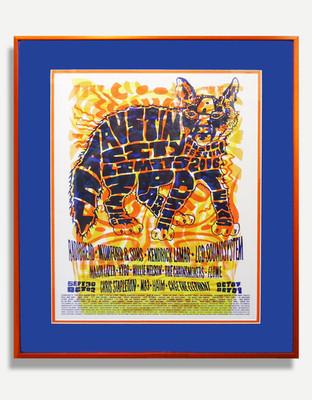 Austin City Limits F - Framed Poster