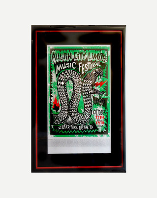 Austin City Limits G- Framed Poster