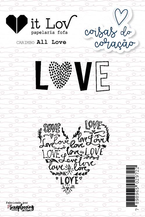 "Carimbo ""All Love"""