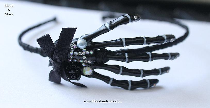 Skeleton Hand Hair Band