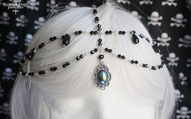 Bead Cameo Head Piece Jewellery