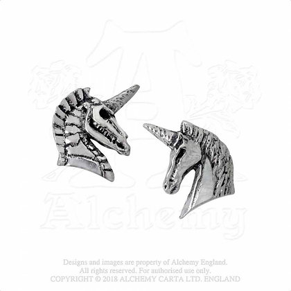Unicorn Studs (Alchemy Gothic)
