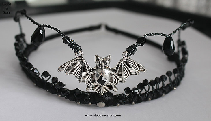 Vampire Princess Bat Tiara