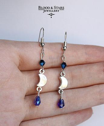 Moon Crystal Earrings