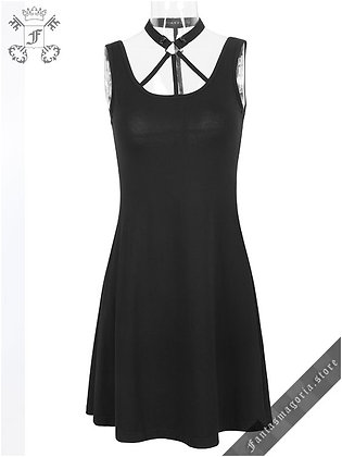 The Cross Summer Dress (PunkRave)