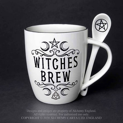 Witches Brew: Mug and Spoon Set (Alchemy Gothic)