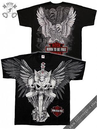 Rock Riders Skull T Shirt