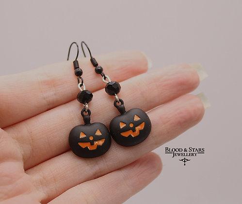 Halloween Pumpkin Spooky Earrings