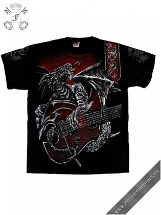 Dragon's Guitar T Shirt
