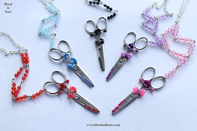 Scissor Pendant Necklace