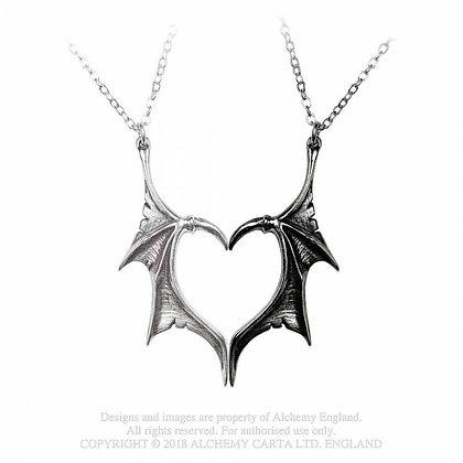 Darkling Heart - Friendship Pendants (Alchemy Gothic)